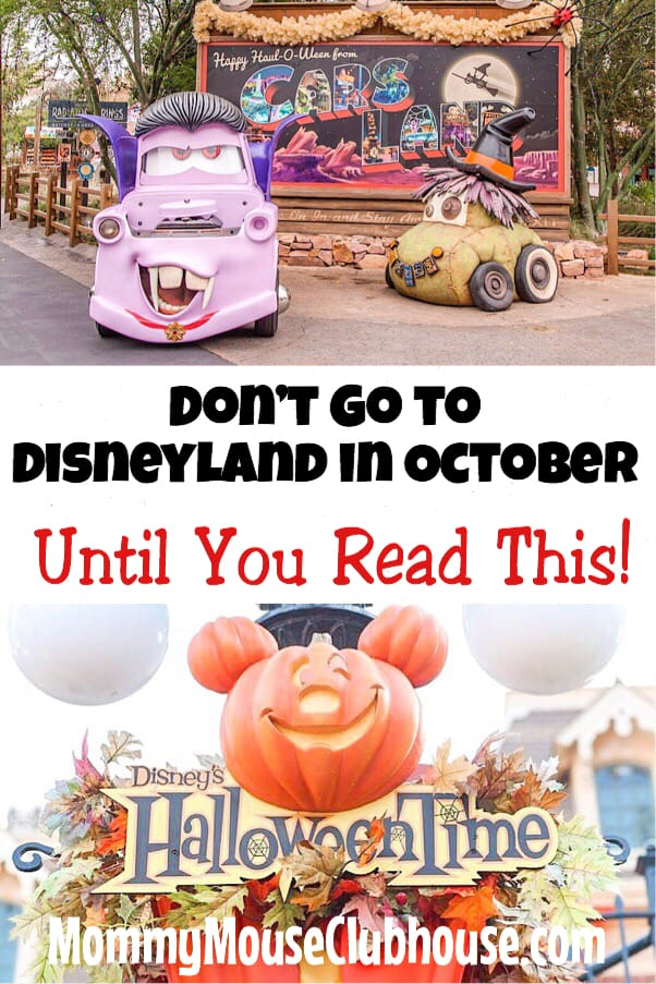 Don't Go To Disneyland in October Until You Read This!