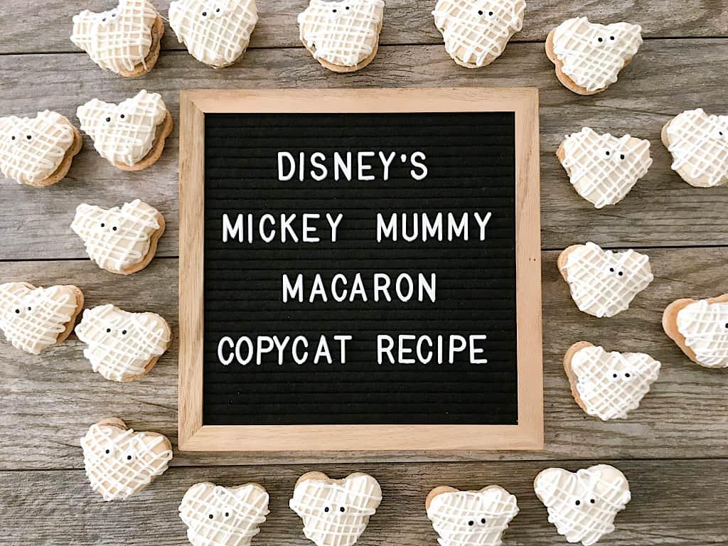 Disney's Mickey Mummy Macaron Copycat Recipe