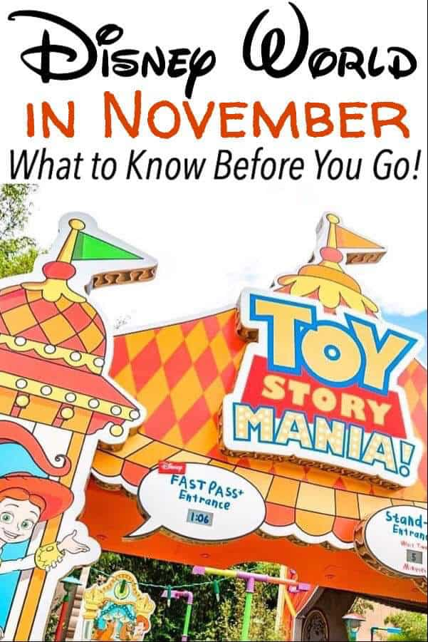 Disney World in November What to Know Before You Go!