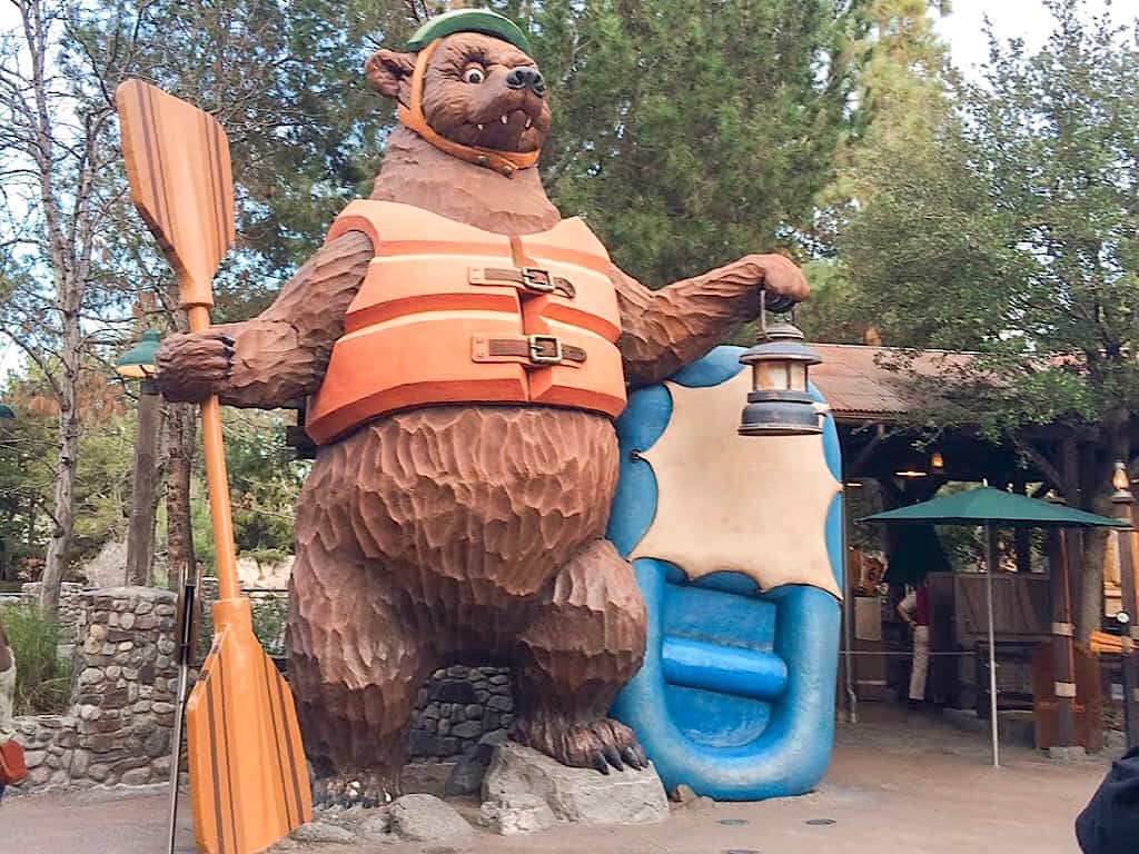 Disneyland Grizzly River Run