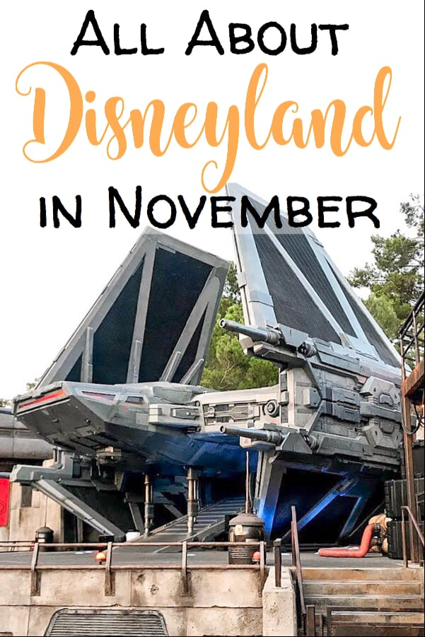 All About Disneyland in November