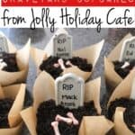 Disneyland's Graveyard Cupcakes form Jolly Holiday Cafe
