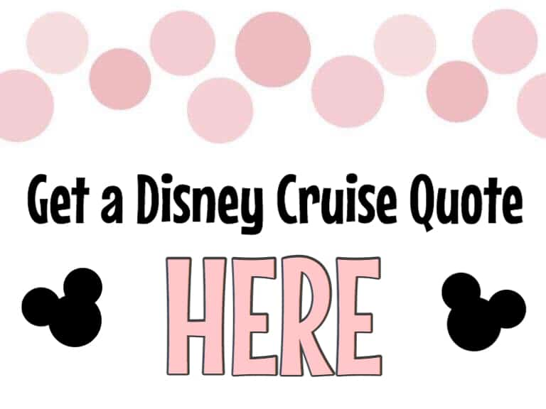 Get A Disney Cruise Quote Here