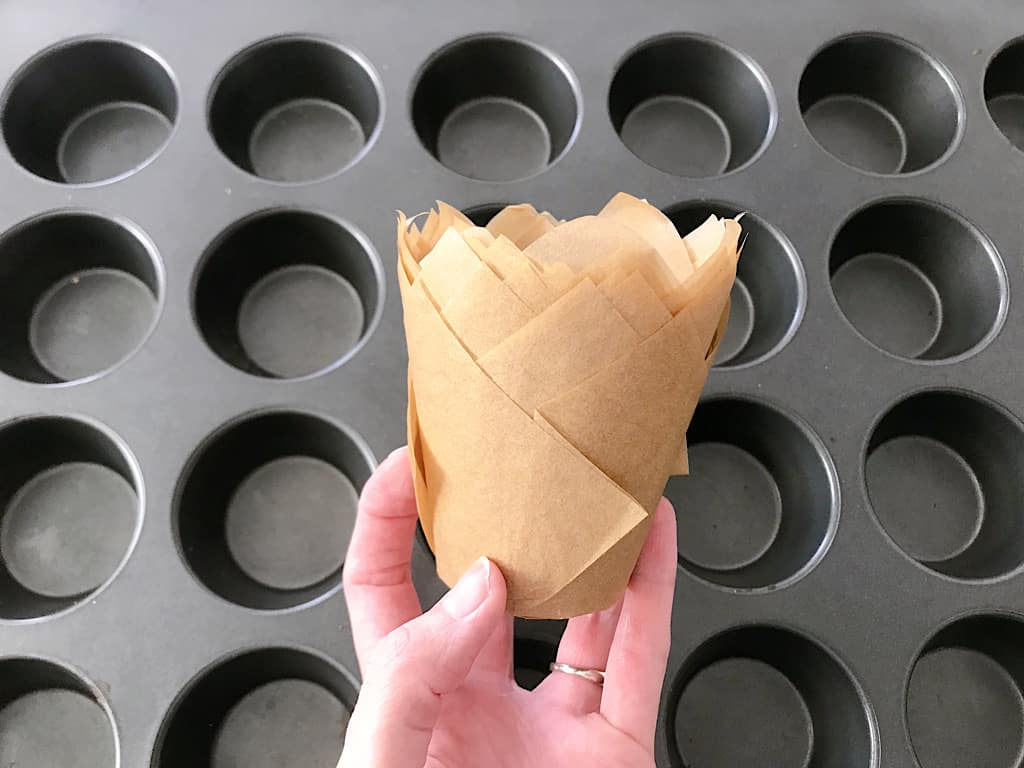 Parchment Cupcake Liners for Disneyland's Graveyard Cupcakes