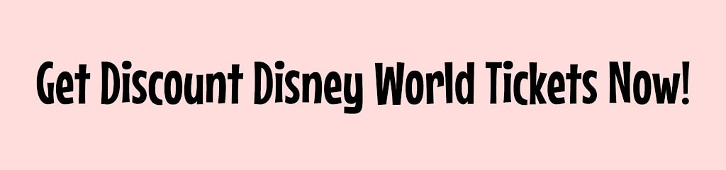 Get Discount Disney World Tickets Now!