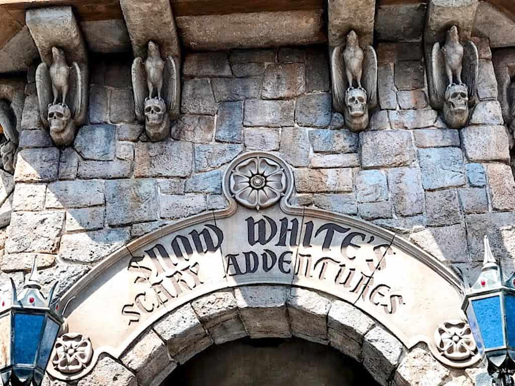Snow White's Scary Adventure at Disneyland