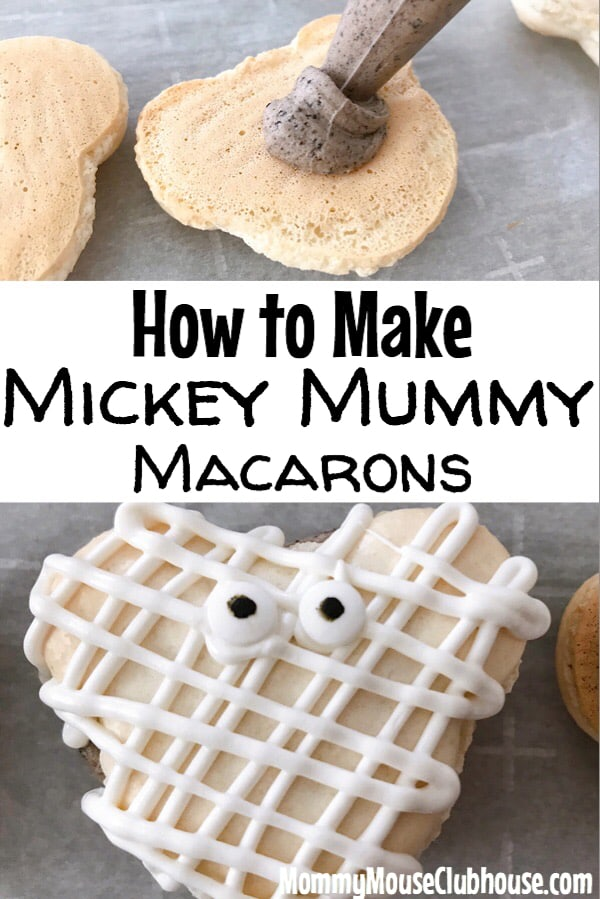 How to Make Mickey Mummy Macarons