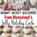 Mummy Mickey Macarons From Disneyland's Jolly Holiday Cafe