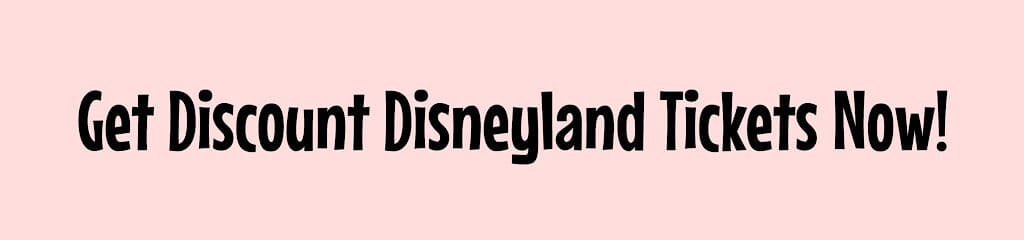 Get Discount Disneyland Tickets Now!