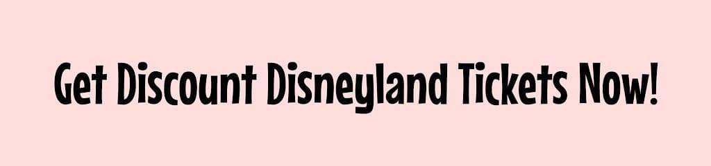 Get Discount Disneyland Tickets Now!
