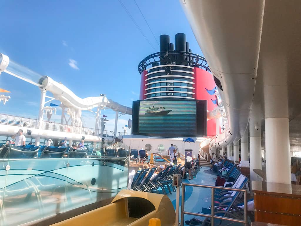 Top Deck of Disney Fantasy