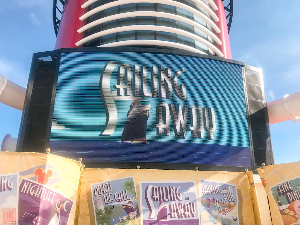 Sailing Away Party Disney Cruise