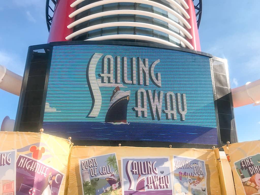 Sailing Away Party Disney Cruise