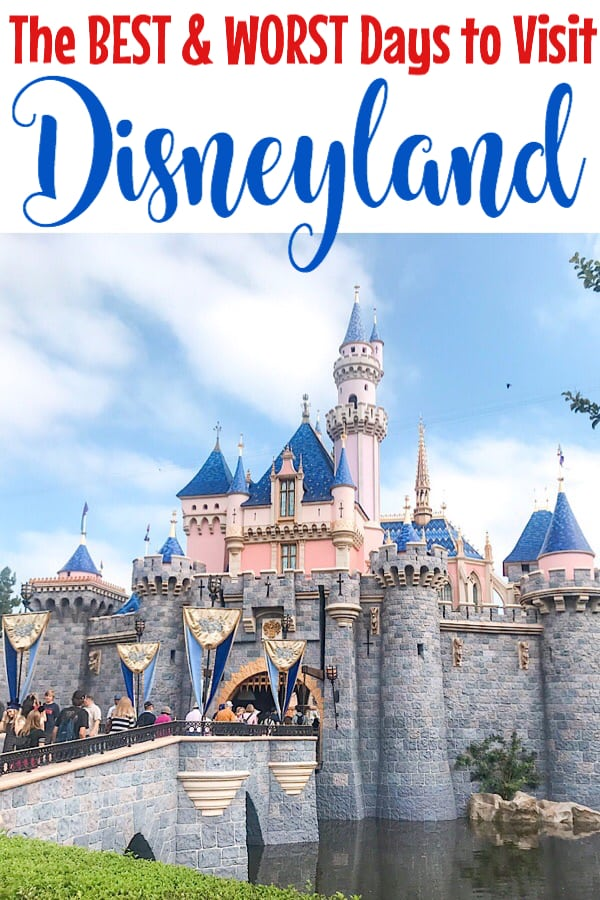 The Best and Worst Days to Visit Disneyland