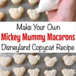 Make Your Own Mickey Mummy Macarons