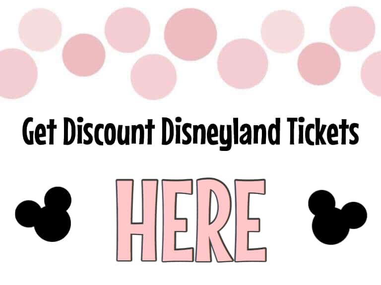 Get Discount Disneyland Tickets HERE