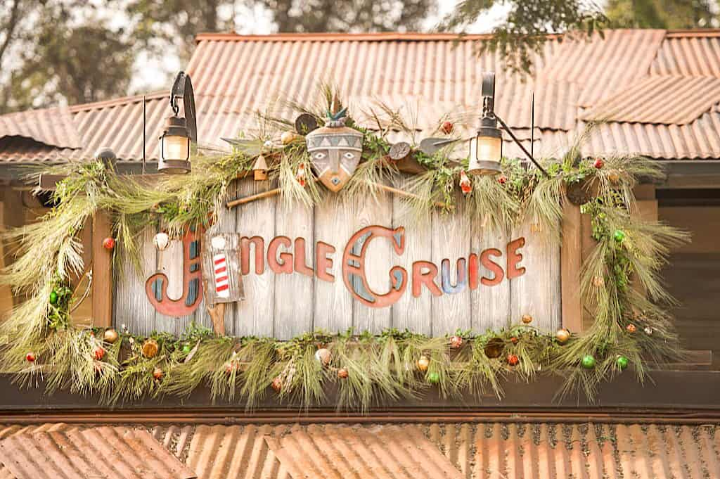 Jingle Cruse instead of Jungle Cruise at Disney World