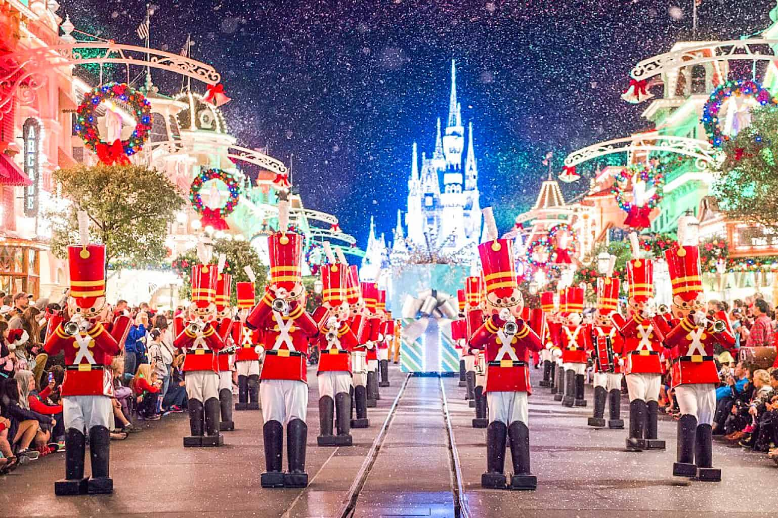 Toy Soldiers at Mickey's Very Merry Christmas Parade