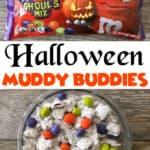 Halloween Muddy Buddies