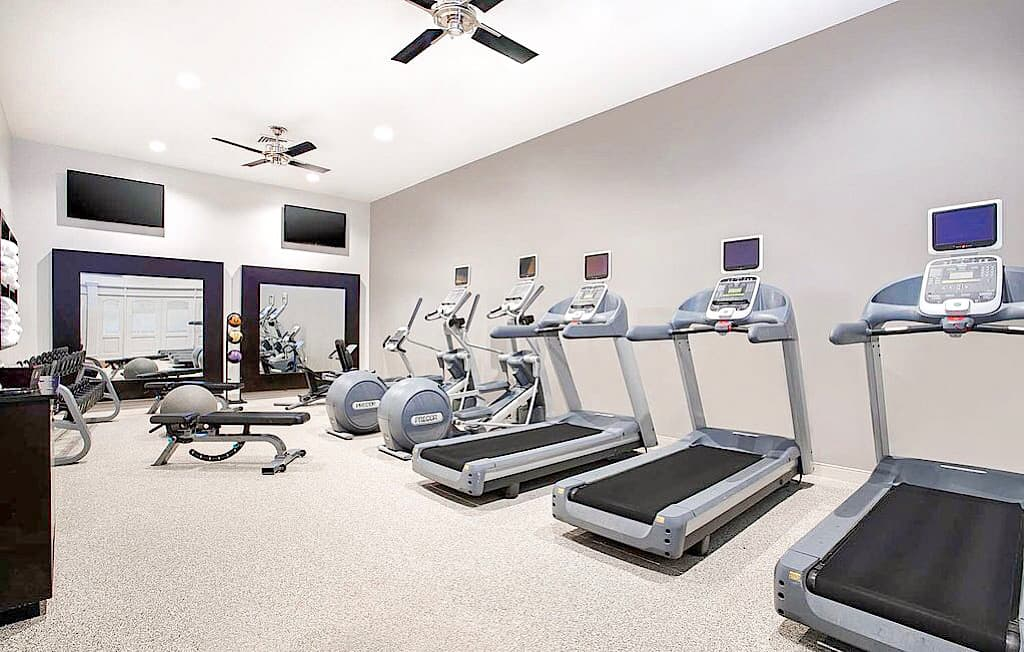 Fitness Area Embassy Suites Orlando International Drive
