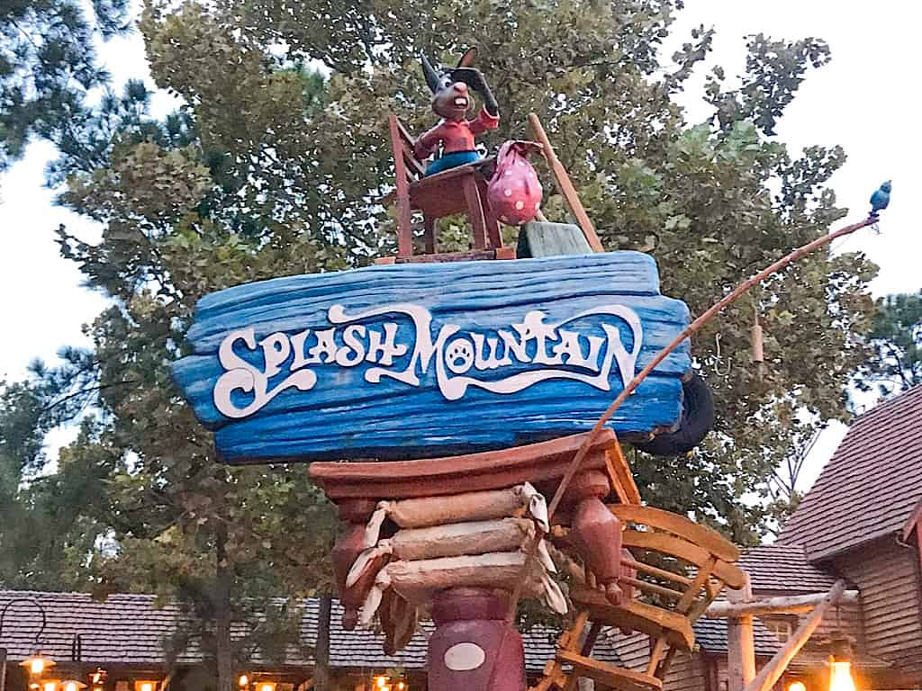 Splash Mountain at Disney's Magic Kingdom Disney World