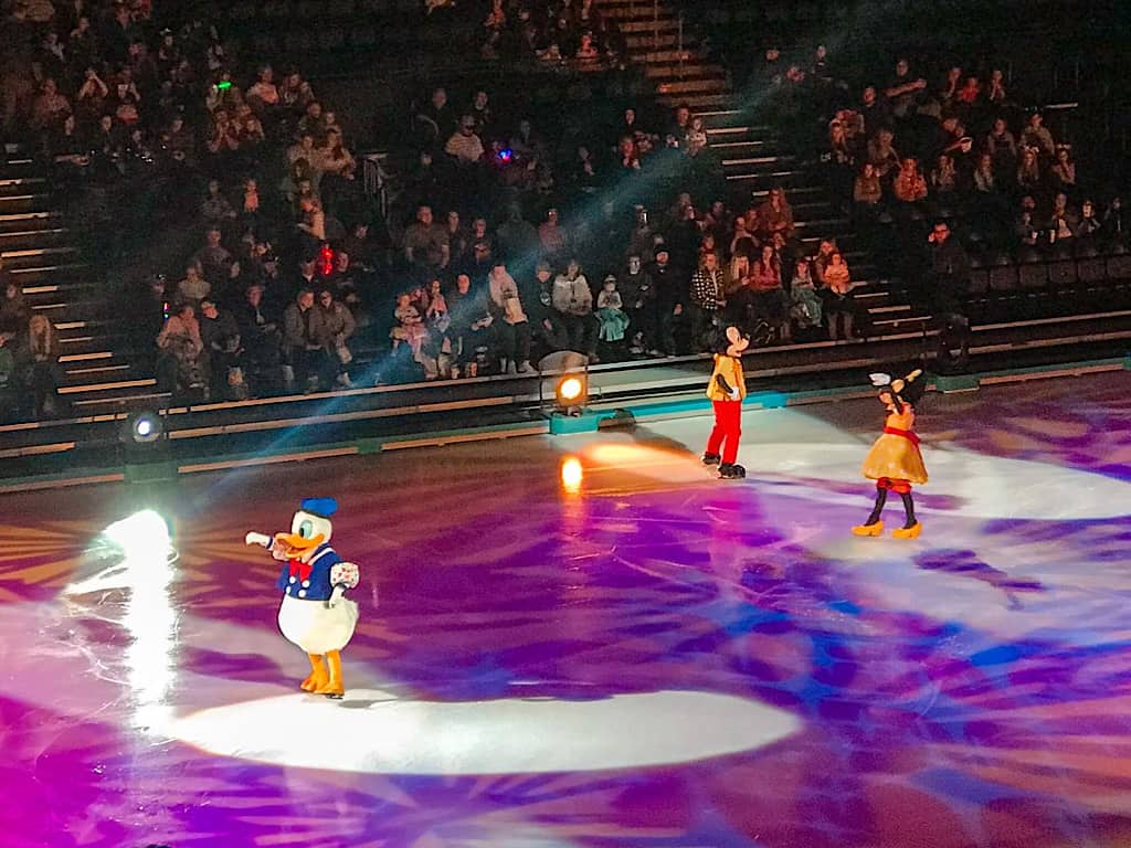 Donald Duck, Mickey & Minnie at Disney on Ice