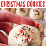 Melt in Your Mouth Christmas Cookies