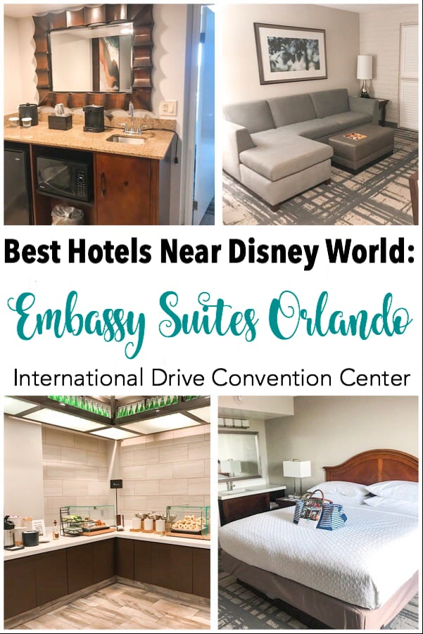 Best Hotels Near Disney World: Embassy Suites Orlando International Drive Convention Center