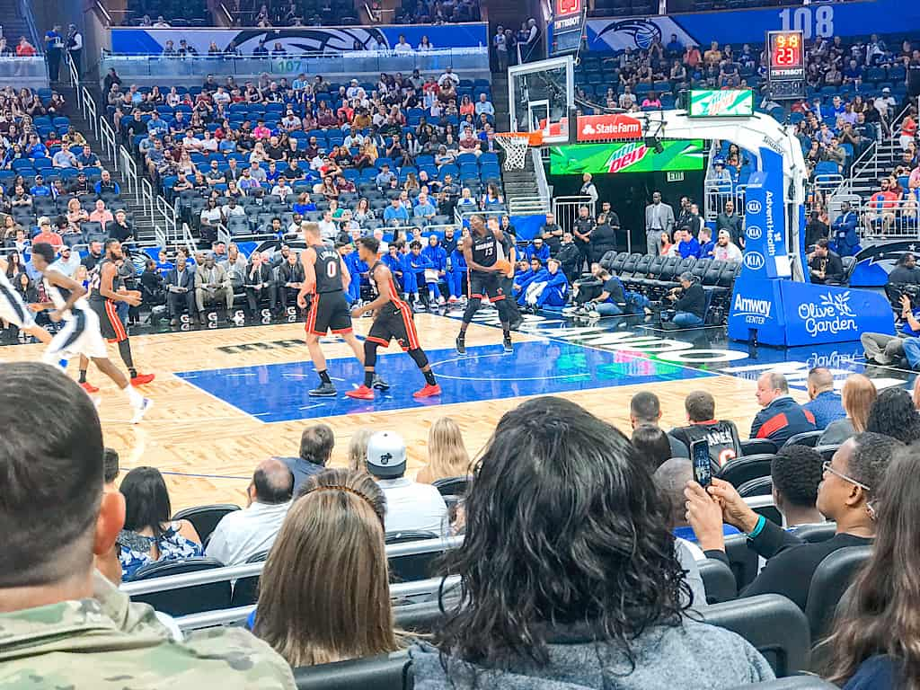 Orlando Magic vs. Miami Heat Amway Center