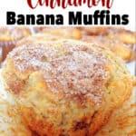 Fool-Proof Cinnamon Banana Muffins