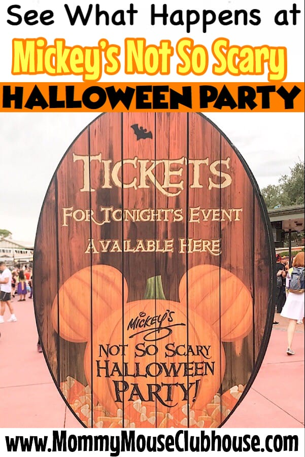 See What Happens at Mickey's Not So Scary Halloween Party