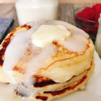Best Fluffy Buttermilk Pancake Recipe