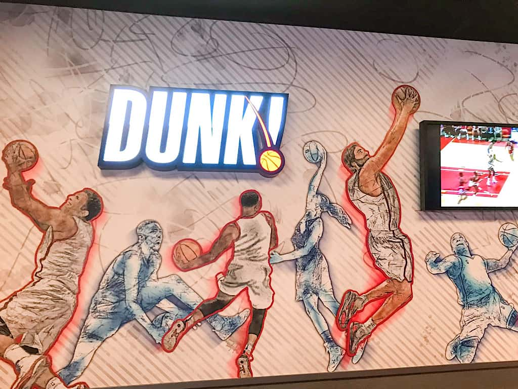 Dunk Area NBA Experience
