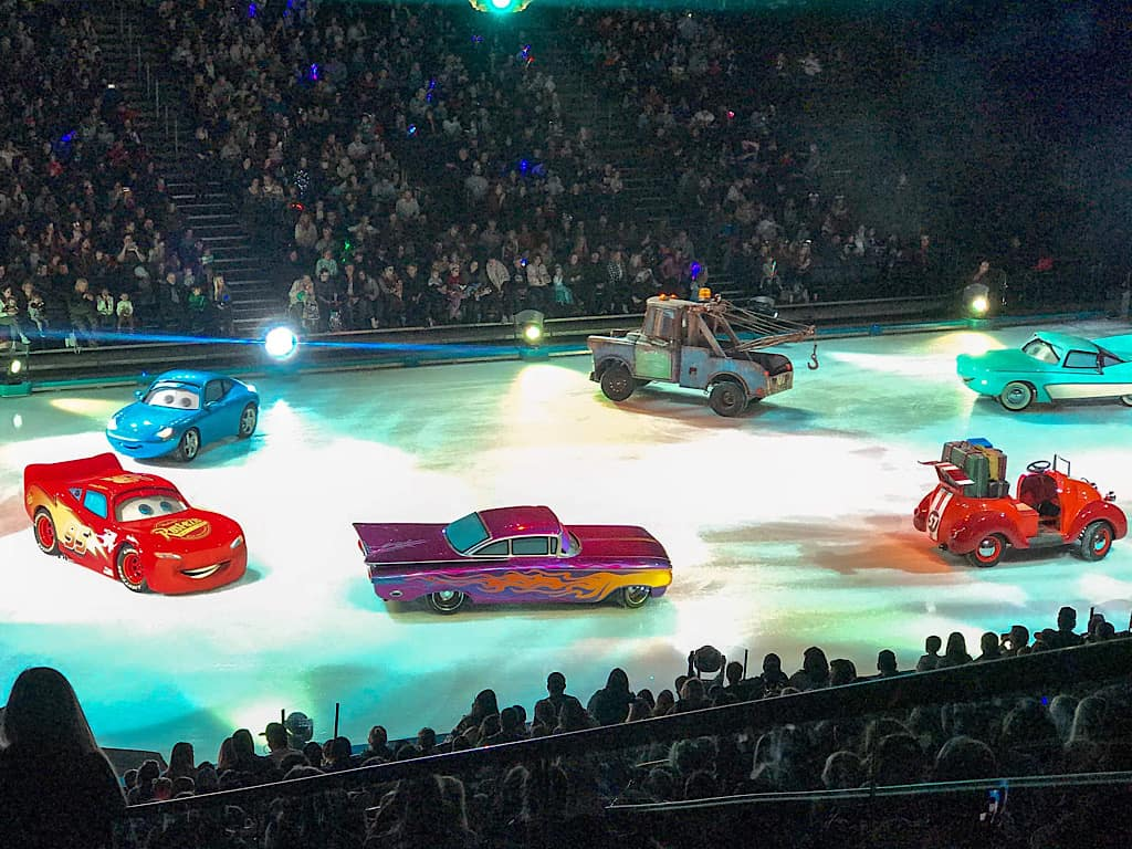 Cars Characters in Disney on Ice