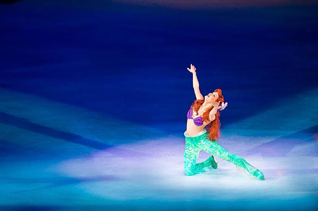 Ariel from The Little Mermaid at Disney on Ice
