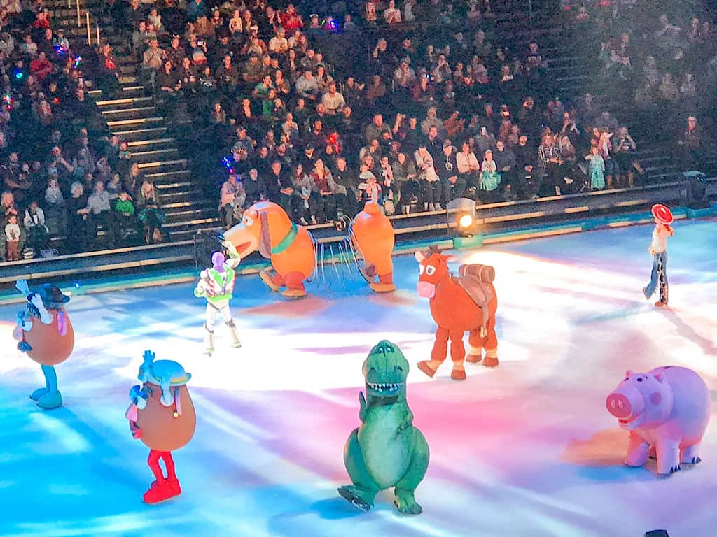 Toy Story Characters from Disney on Ice Worlds of Enchantment