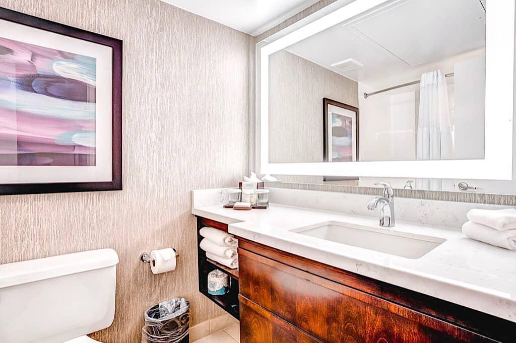 Embassy SuitesBathroom Orlando International Drive