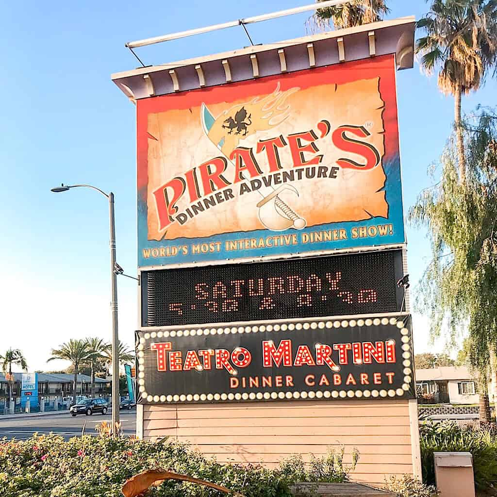 Pirate's Dinner Adventure Buena Park California