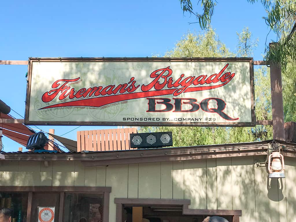 Fireman's Brigade BBQ at Knott's Berry Farm