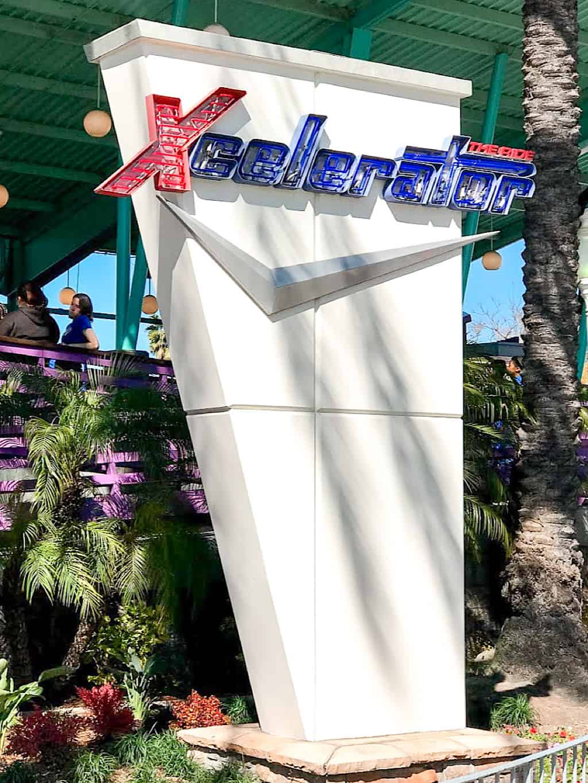 Xcelerator Roller Coaster Knott's Berry Farm Buena Park Caliornia
