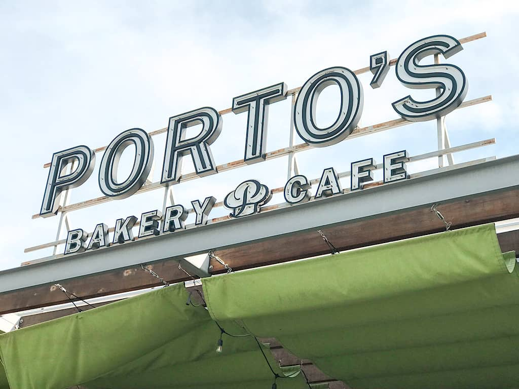 Porto's Bakery and Cafe in Buena Park California