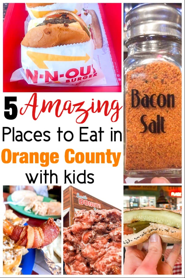 5 Amazing Places to Eat in Orange County California