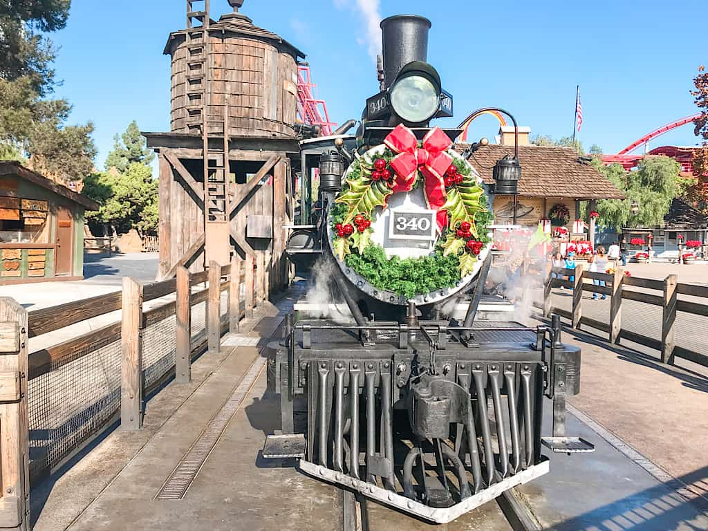 Calico Railroad at Knott's Berry Farm in Buena Park