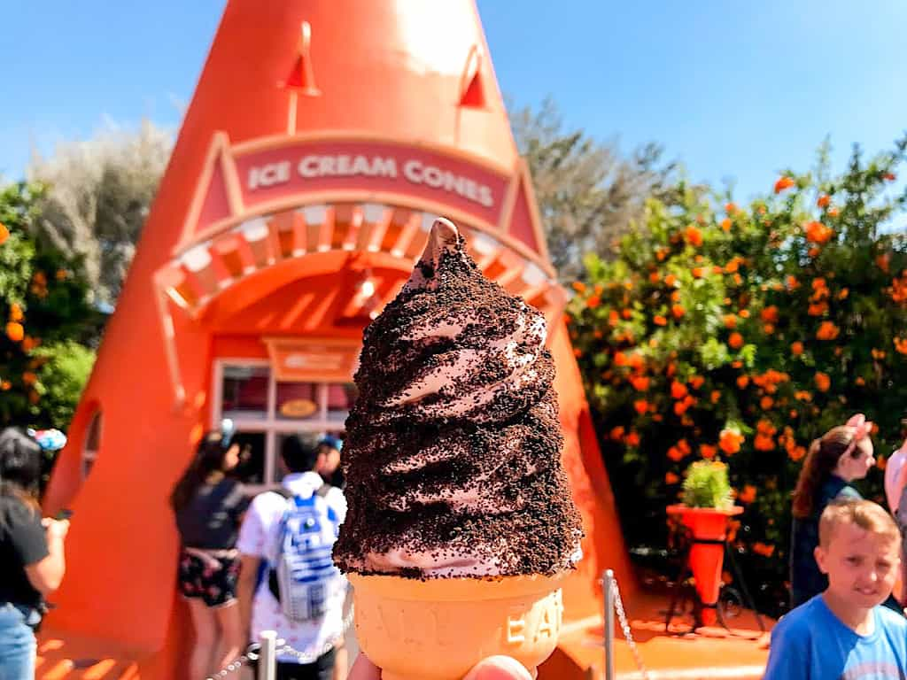 Ice Cream Cone at Cozy Cone Motel Disneyland