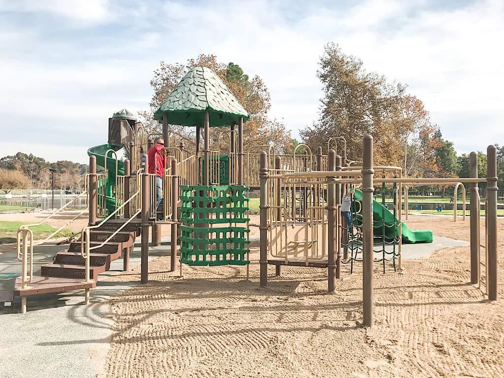 Playground atRalph B Clark Regional Park in Southern California