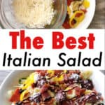 The Best Italian Salad