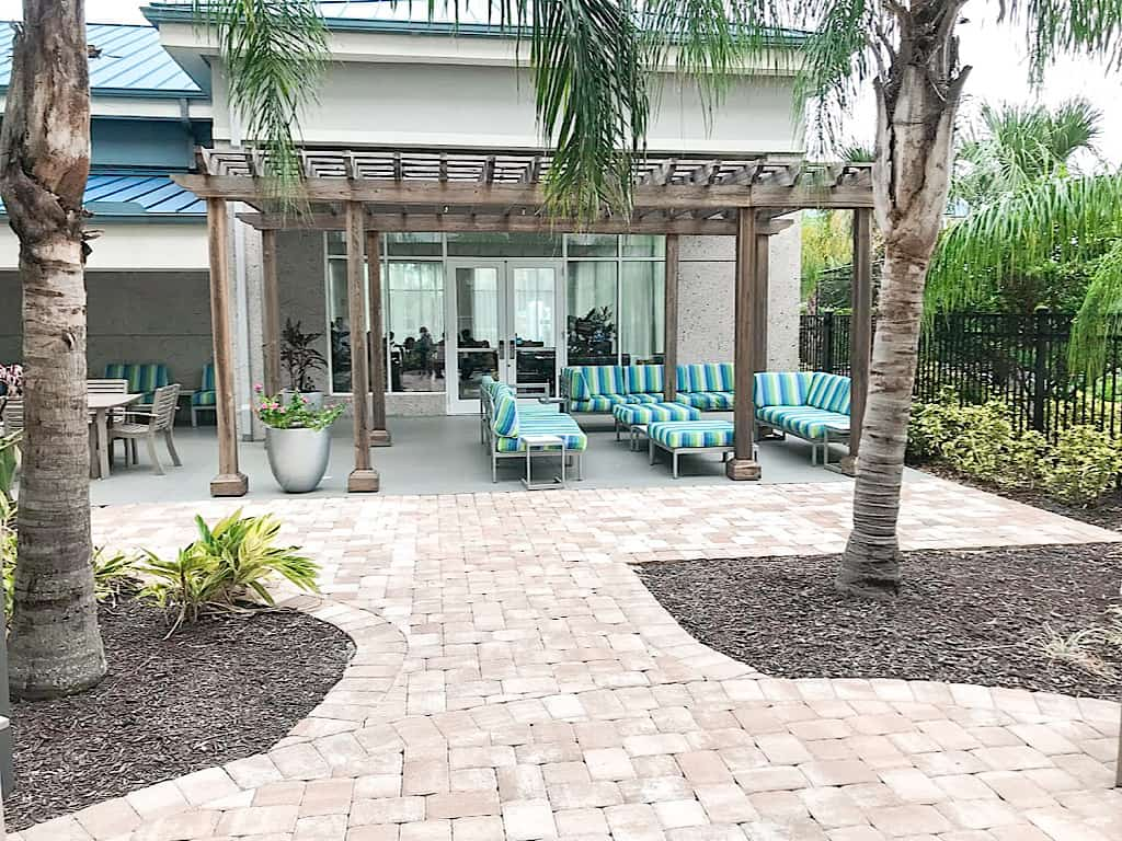 Homewood Suites by Hilton Orlando Theme Parks Outoor Patio
