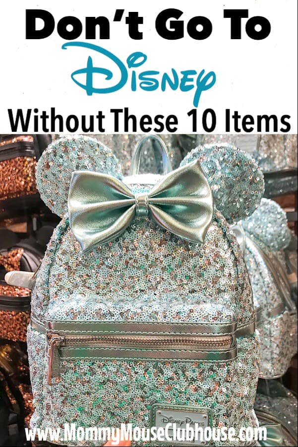 Don't Go to Disney Without These 10 Items