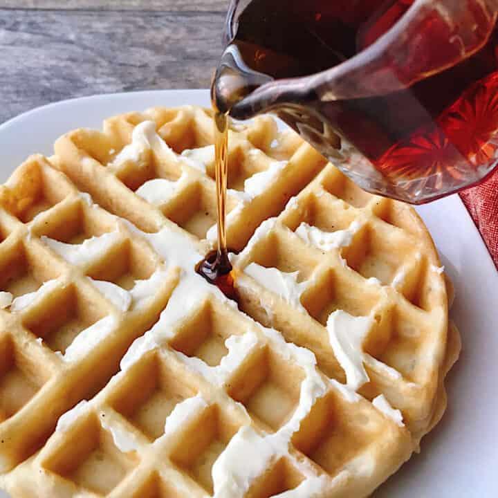 Easy Fast Waffles Recipe
