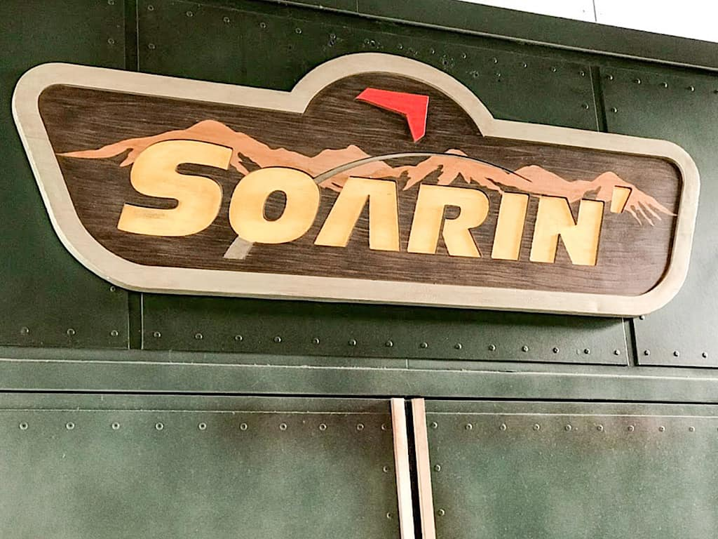 Soarin over the world at Disney California Adventure